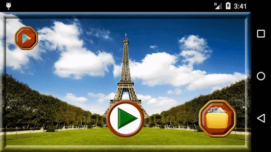 Paříž krása fotorámečky - náhled