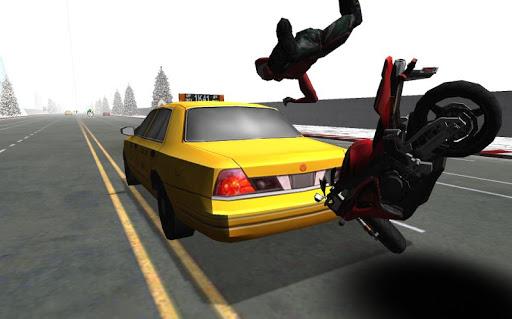 オートバイのレース