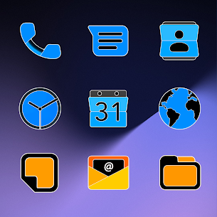 Pixel Limitless Fluo – Icon Pack (MOD, Paid) v1.1 4