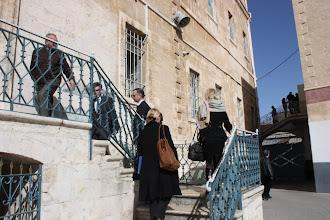 Photo: Visite au Collège des Frères à Jérusalem