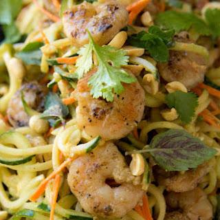 BBQ Shrimp with Thai Cucumber Noodles