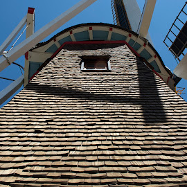 Dutch windmill (architectural detail) by Rogerio Ribas - Buildings & Architecture Architectural Detail
