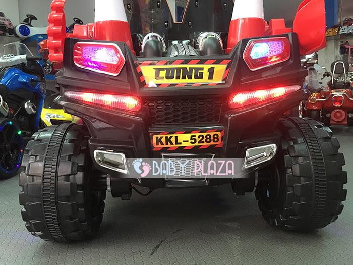 Xe oto điện Jeep KKL-5288 cực ngầu cho bé 7
