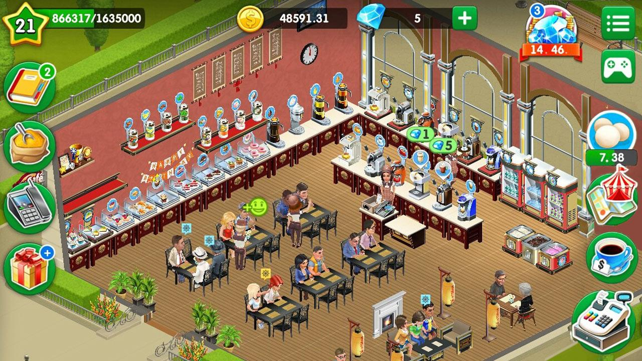 Coffee Cafe Game App