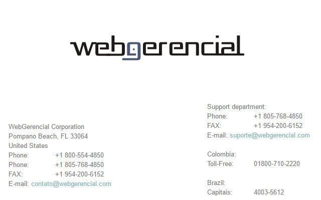 WebGerencial