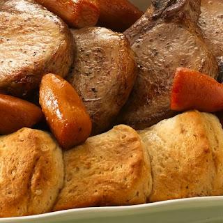 Maple Pork Chop Dinner Recipe