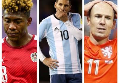 Toplanden als Argentinië, Nederland en Oostenrijk gaan zo goed als zeker niet naar het WK