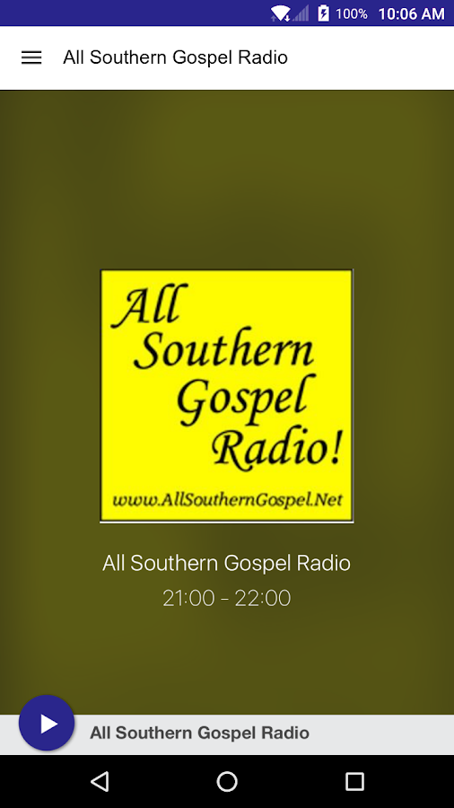 All Southern Gospel Radio- screenshot