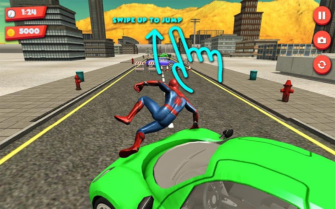Superhero Extreme Parkour Android 6