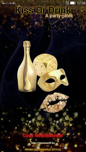 Kiss-Or-Drink - Próbaverzió