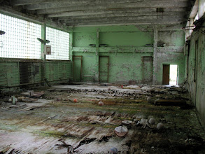 Photo: gym in pripyat