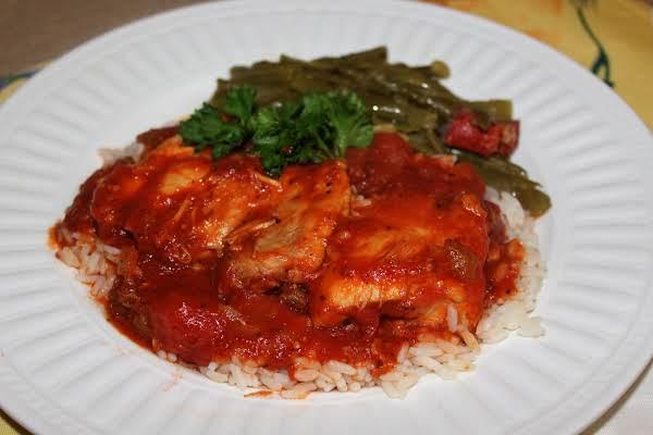 Chicken And Tomato Gravy