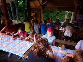 Photo: První táborová klasika po příjezdu : gulášovka