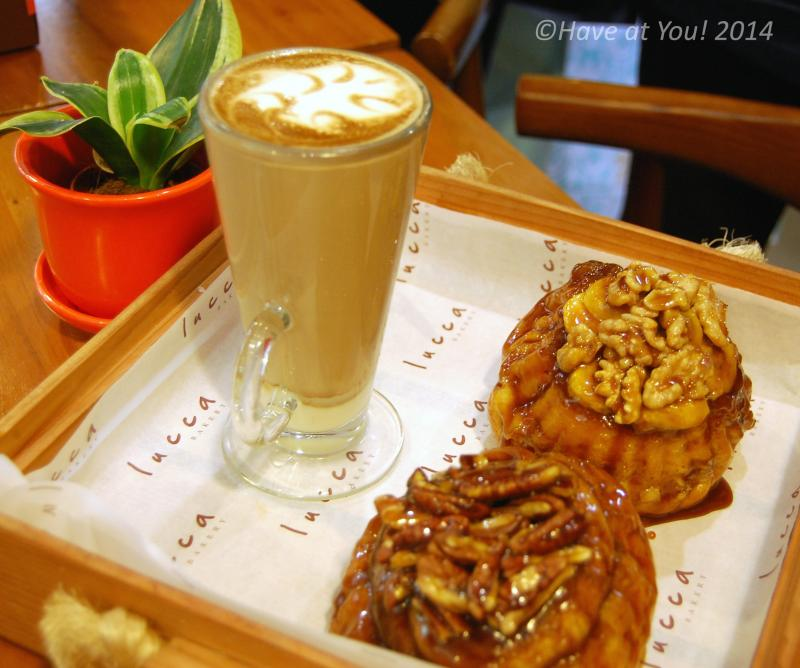 Lucca bread and coffee