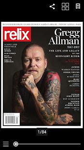 Relix Magazine - náhled