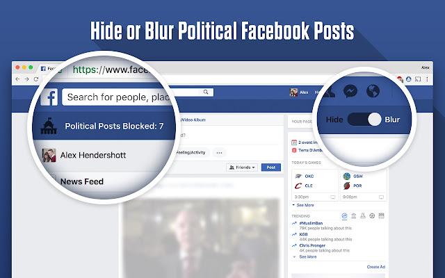 FPB - Remove Politics from Facebook