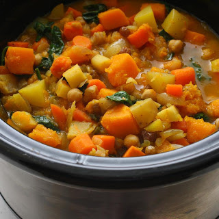 Slow Cooker Root Vegetable Stew.