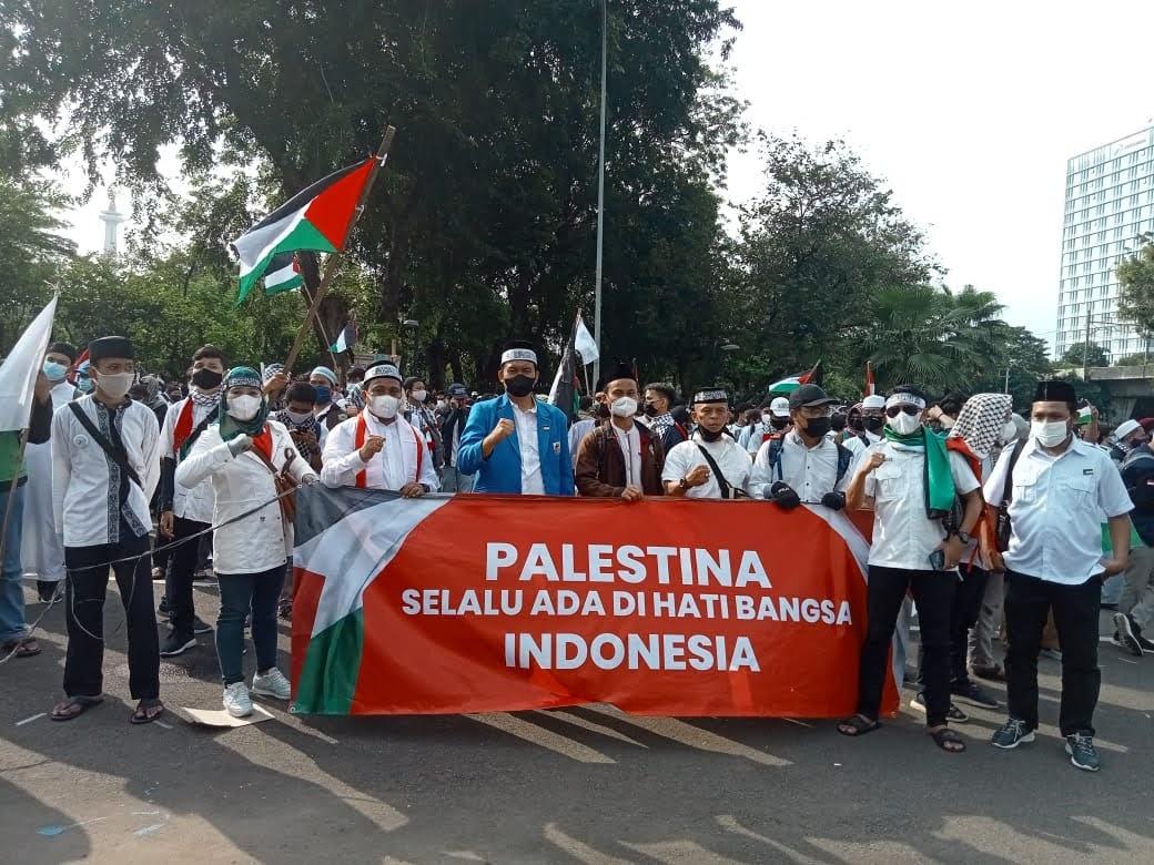 DPP KNPI dan Pimpinan OKP Mengutuk Keras Penyerangan Israel dan Seruhan Jihad