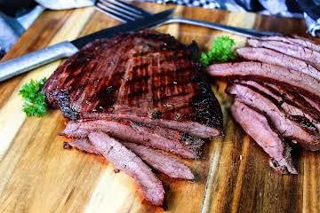 Grilled Sesame Flank Steak
