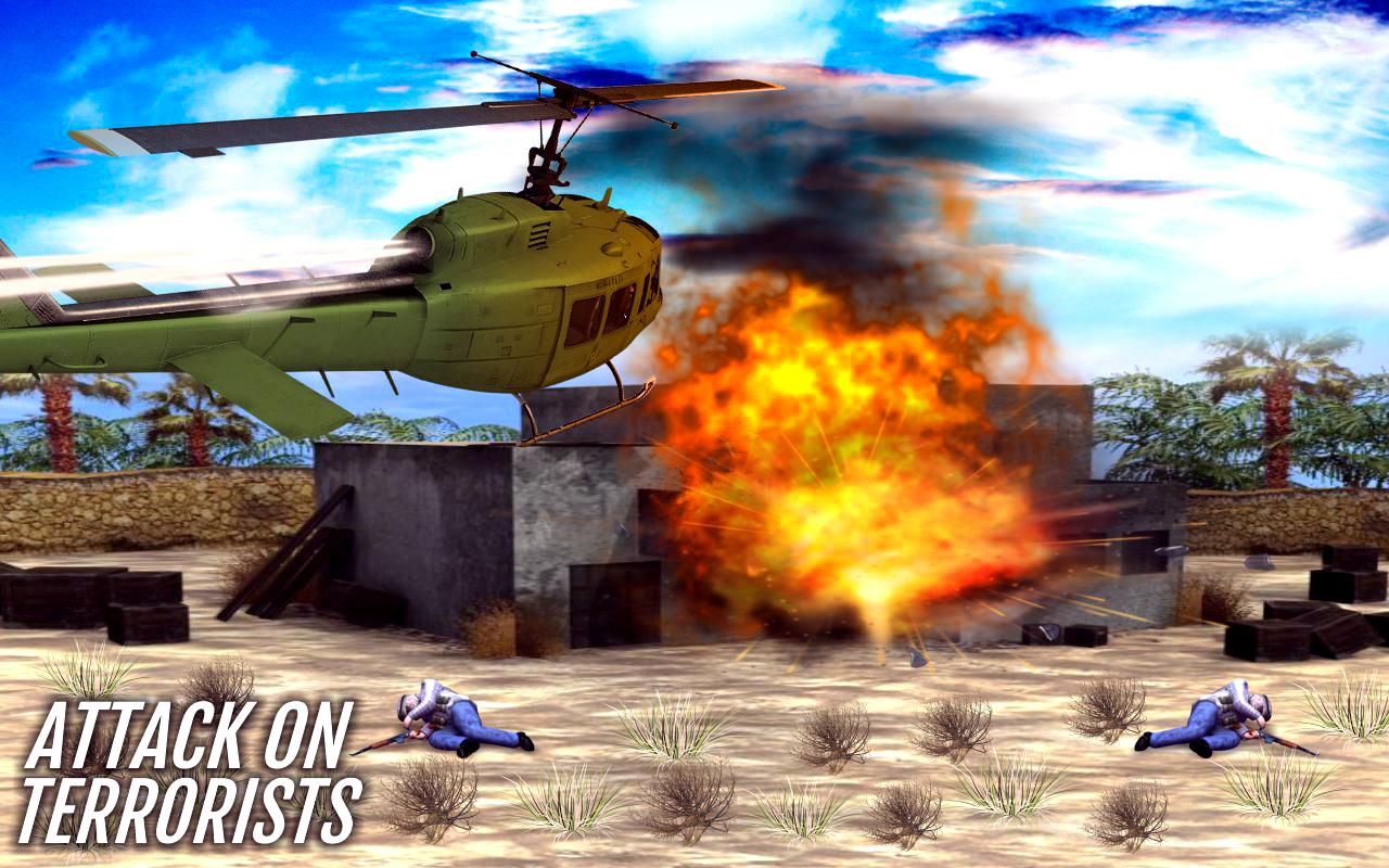 Gunship Battle Strike 3D: Modern War Air Attacks- screenshot
