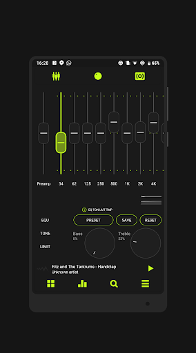 Download Blacklight ⚡️ PowerAmp v3 Skin on PC & Mac with