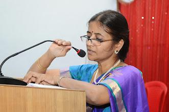 Photo: Dr. P. UMA DEVI - Convener and Principal