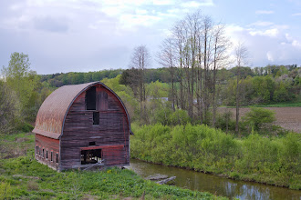 Photo: Rural Decay - 1  We drove to from Boston, MA to Ithaca, NY recently for Madeleine's sister's graduation. The final hour of the drive on route on NY-206 and NY-79 passes many abandoned buildings, farms and silos. We stopped to take photos of some -- here's the first, more to come.