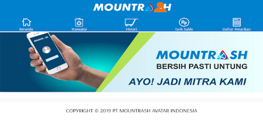 Mountrash - Application for Collecting Waste of Economic Value by Mutual Cooperation