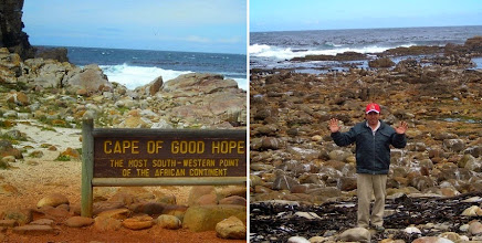 Photo: Victor at the Cape of Good Hope