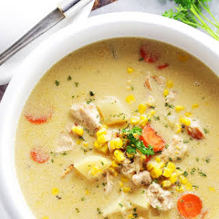 Turkey Corn Chowder.
