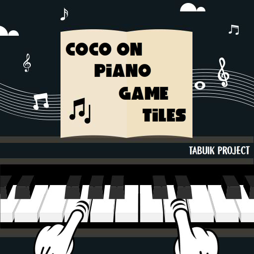 COCO On Piano Game Tiles