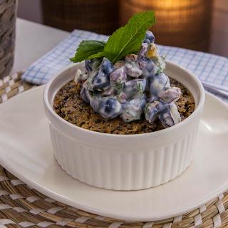 Vanilla Quinoa Baked Pudding