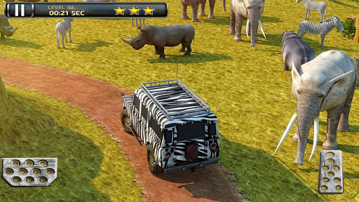Safari Truck Parking Simulator