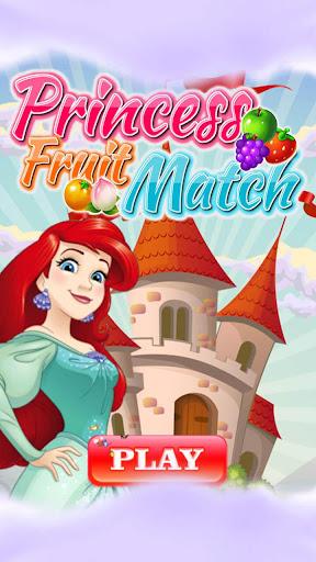 New Fruit Match 3 : Princess Fruit Garden Match ss1
