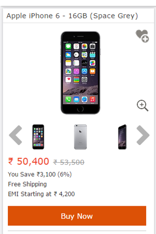 Indiatimes Shopping- screenshot