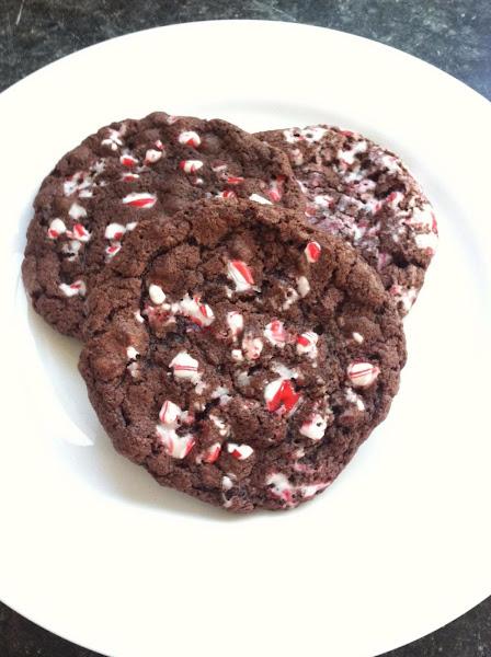 Chocolate-mint Crinkles Recipe