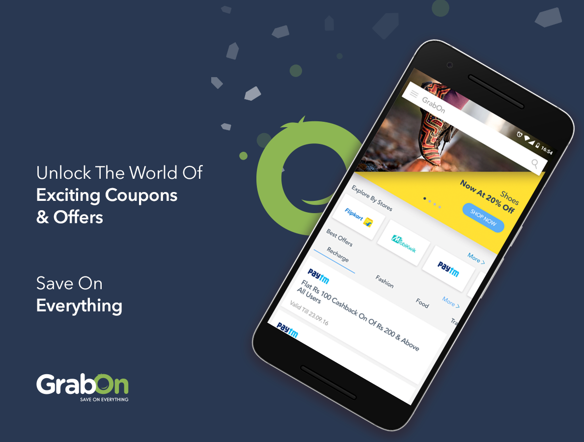 GrabOn - Coupons & Offers- screenshot