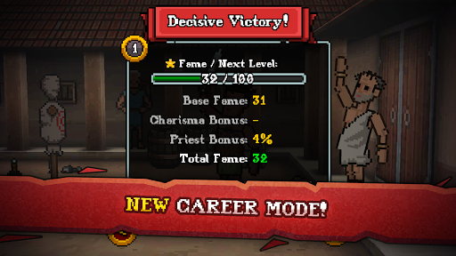 Gladihoppers - Gladiator Battle Simulator! 2.1.0 screenshots 14