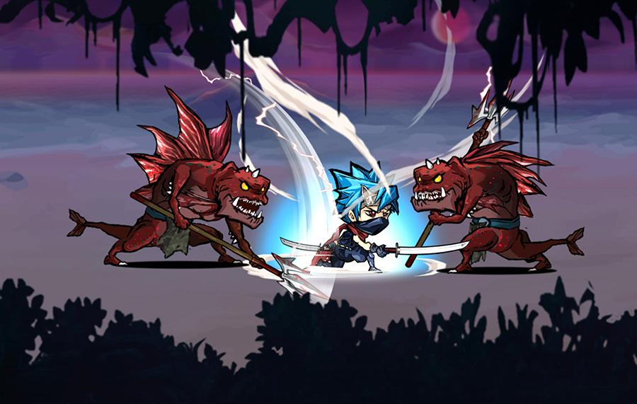 Ninja fight- screenshot
