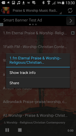 Praise & Worship Music Radio 1.0 screenshot 258692