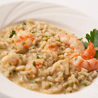 Shrimp & Artichoke Risotto.