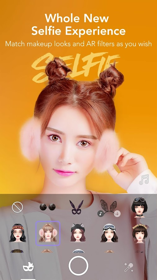 MakeupPlus - Makeup Camera- screenshot