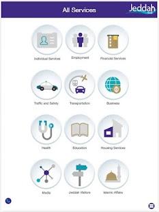 Jeddah App - náhled