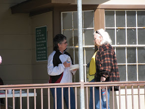 Photo: Judy Nickerson and Carolyn Balkum.    HALS 2009-0228