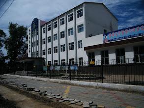 Photo: Qiqihar railway station 5th elemental school. 齐齐哈尔铁路局第五小学校。