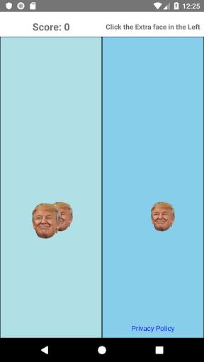 Trump Face Click