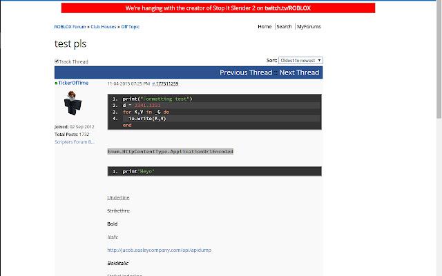 ROBLOX Site Enhancer