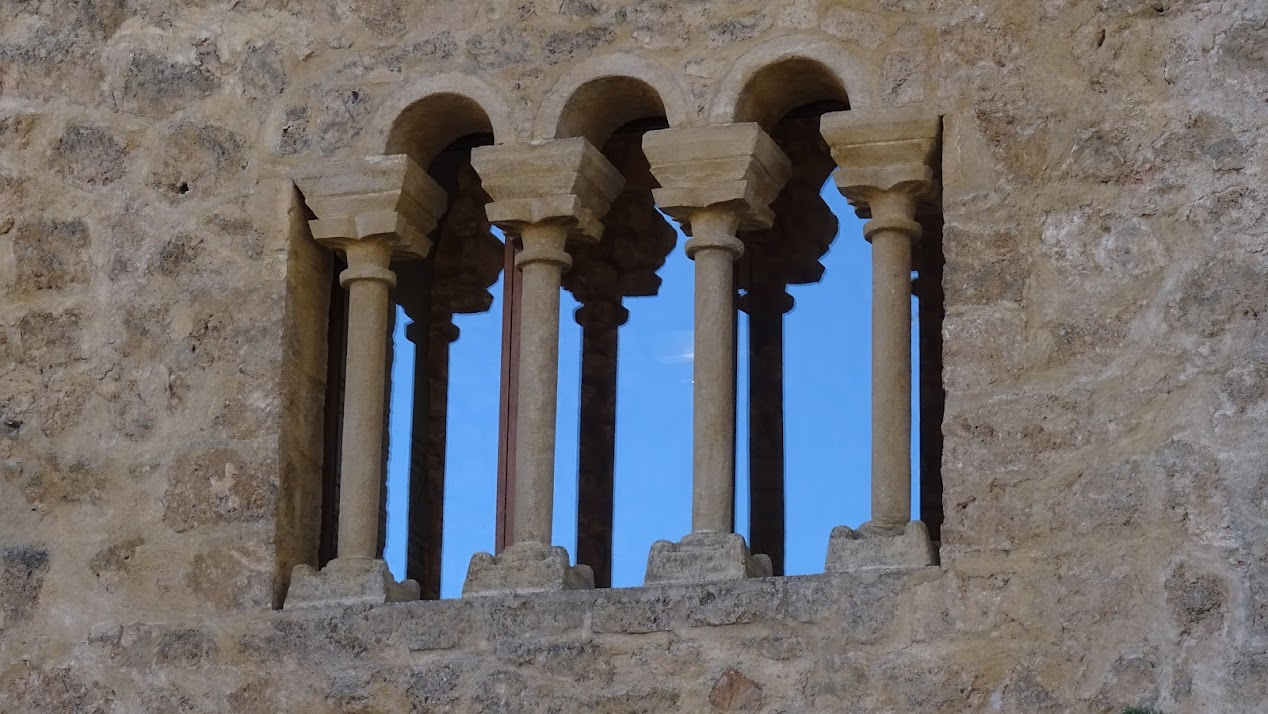 detalle del Castillo de Brihuega
