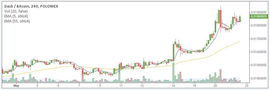 DASH/BTC chart