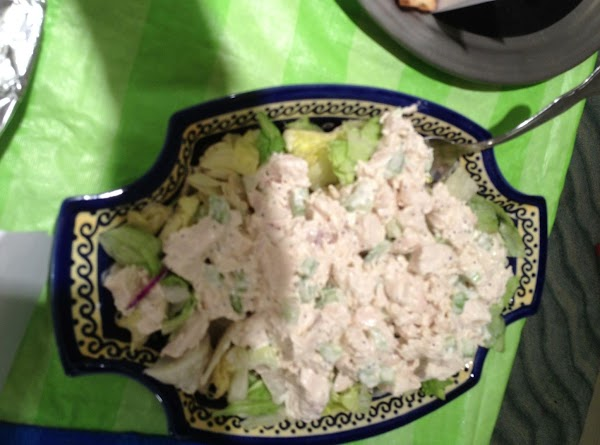 Poached Chicken For Salads Recipe